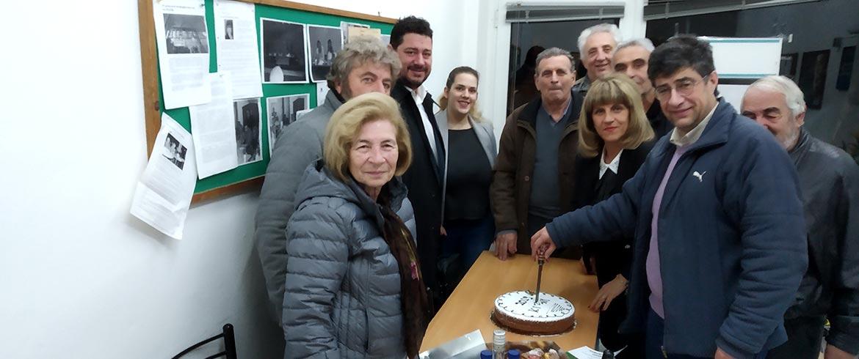 Το ΚΙΝΑΛ Χανίων έκοψε την πίτα του - Στον Μαργαρώνη «έπεσε» το φλουρί