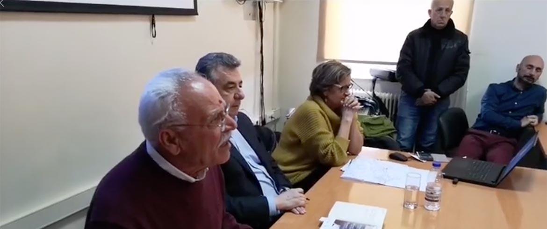 «Χοντρό» επεισόδιο Απόστολου Βουλγαράκη - Θοδωρή Σταθάκη (βίντεο)