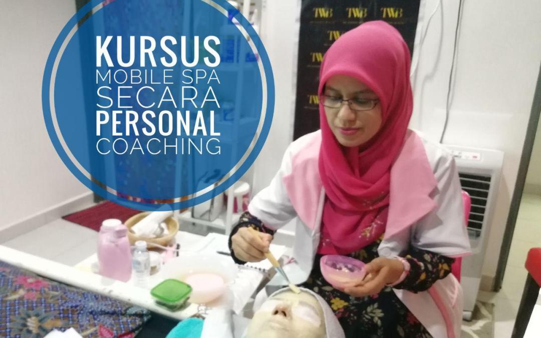 Belajar Kursus Mobile Spa Secara Personal Coaching