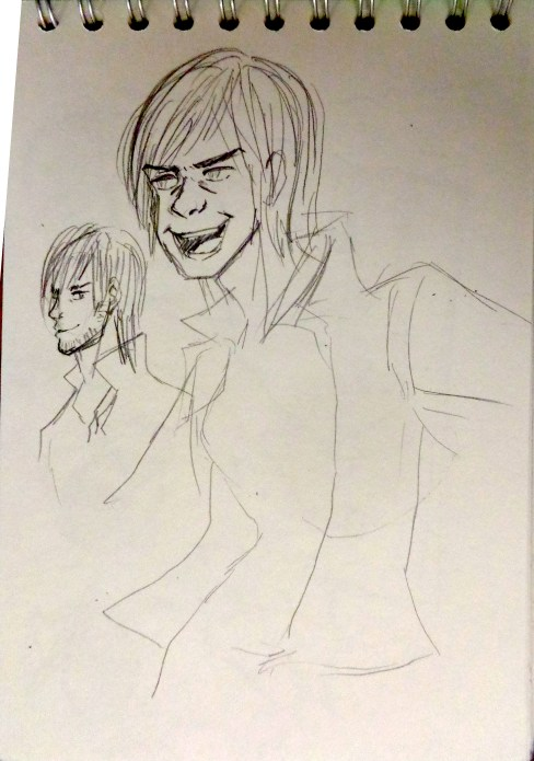 Wanted to do expressions, after looking through DMC4 concept art