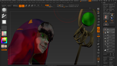 zbrush rendering more 3