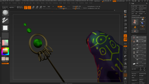 zbrush rendering more 5