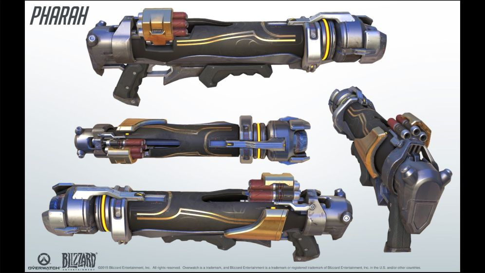 Pharah's Rocket Launcher