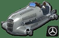 Mario Kart 8 W25 Silver Arrow
