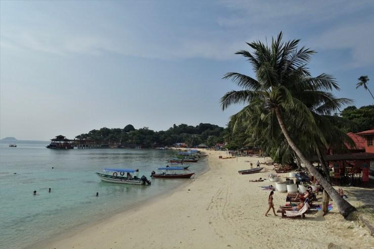 malezja, plaża, coral beach