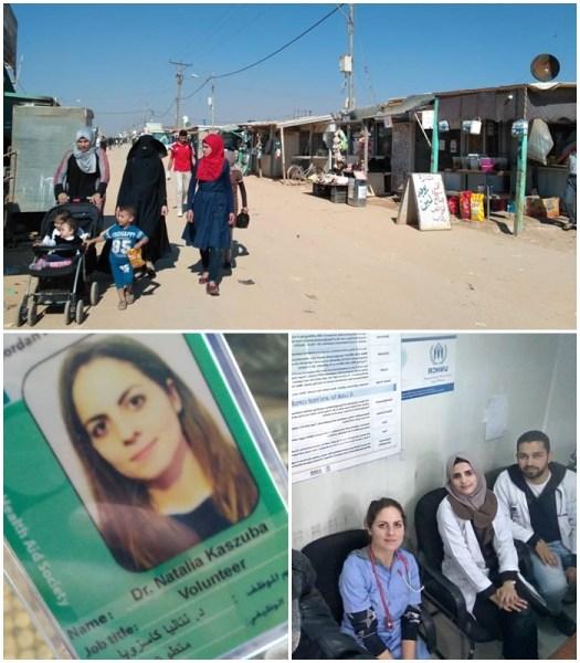 O wolontariacie w obozie dla uchodźców w Jordanii opowiada Natalia Kaszuba