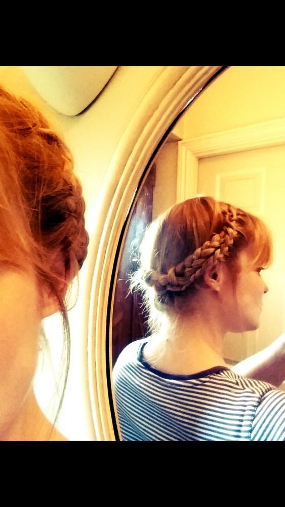 Pinterest Hair ~ Crown Braid (5/6)