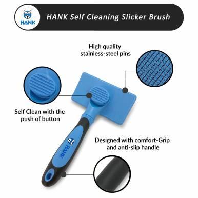 HANKPETS Slicker Brush 2