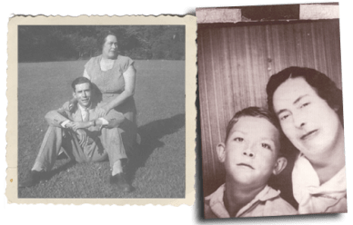 Hank Williams and mother