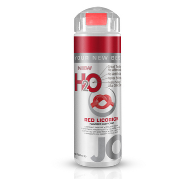 Jo H20 Flavored Lubricant - Red Licorice