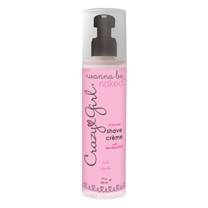 Crazy Girl's Wanna Be Naked Intimate Shave Creme in Pink Cupcake