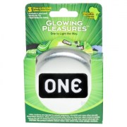 ONE condoms... their Glow in the dark condom! (The Inner raver in me loves this)