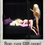 Strap on Positions | Bend over Girlfriend