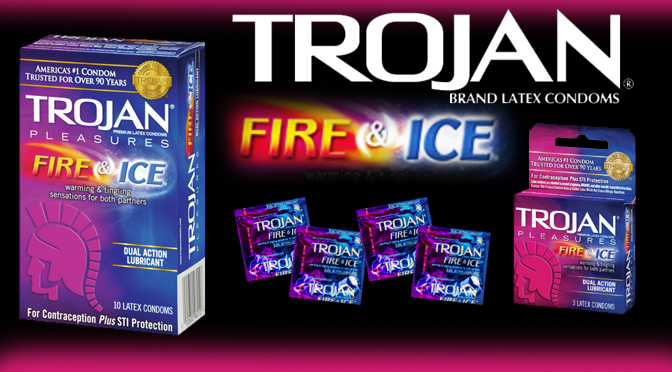 Trojan's Fire & Ice Condoms