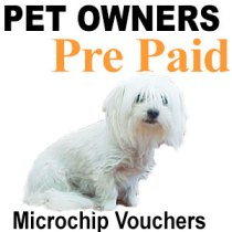 Microchip Vouchers for Pet Owners