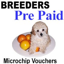 Microchip Vouchers For Breeders