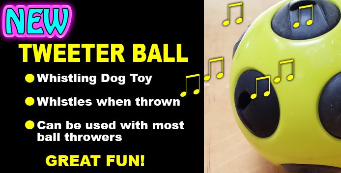 Tweeter Ball for dogs