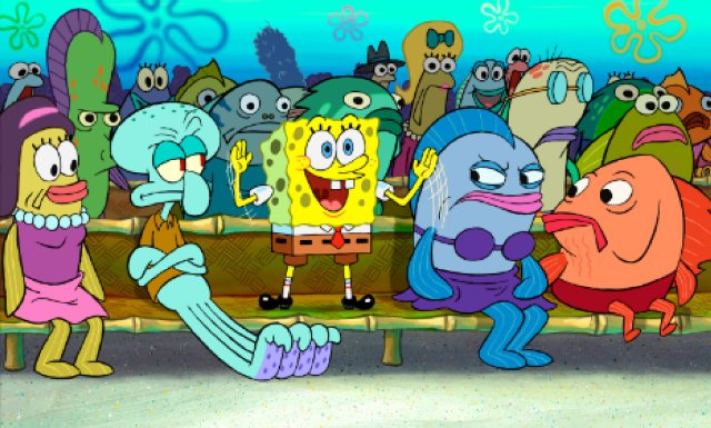spongebob nunsae