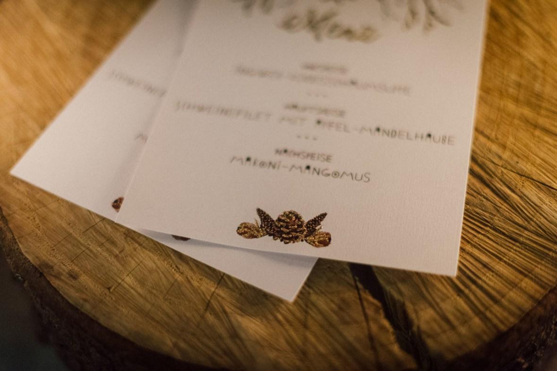 Boho Hochzeit Gold Menü Menükarte Getränkekarte Bohemian Natur