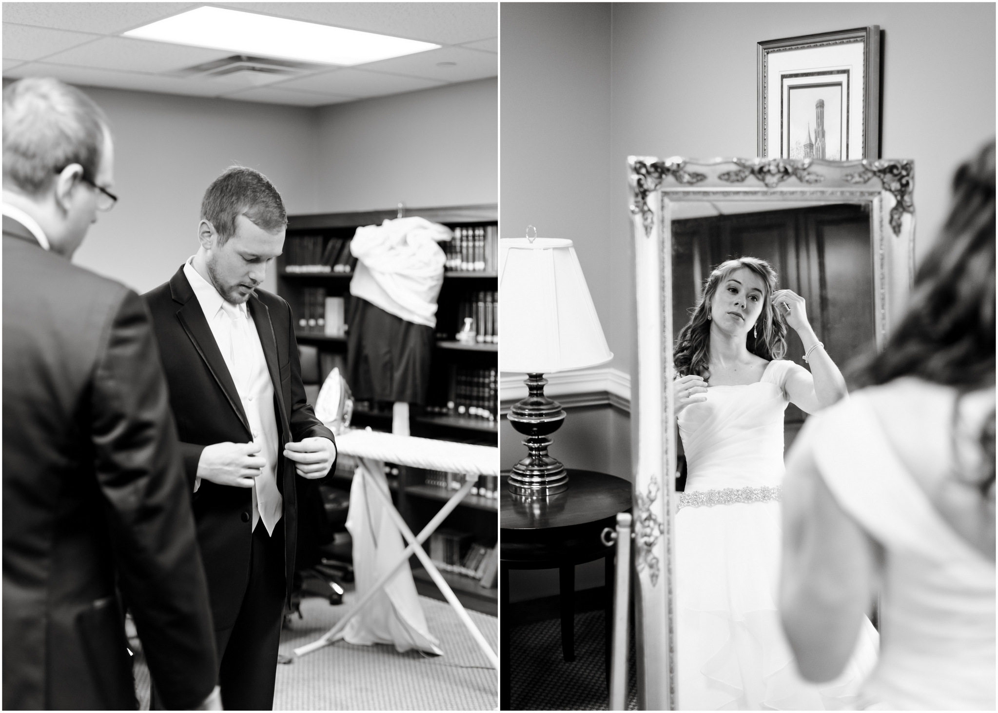 getting ready - washington dc wedding