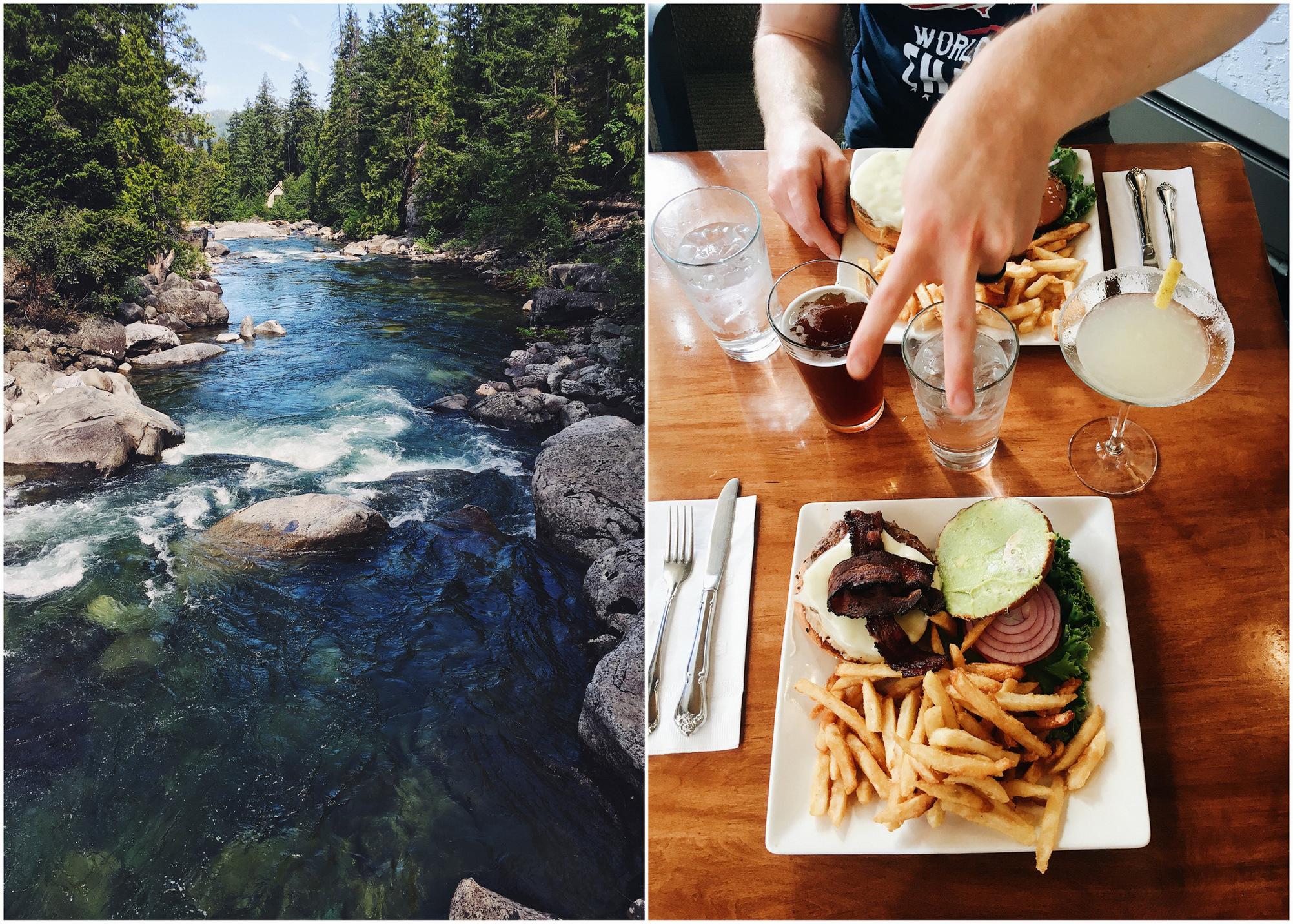 leavenworth washington hiking and food
