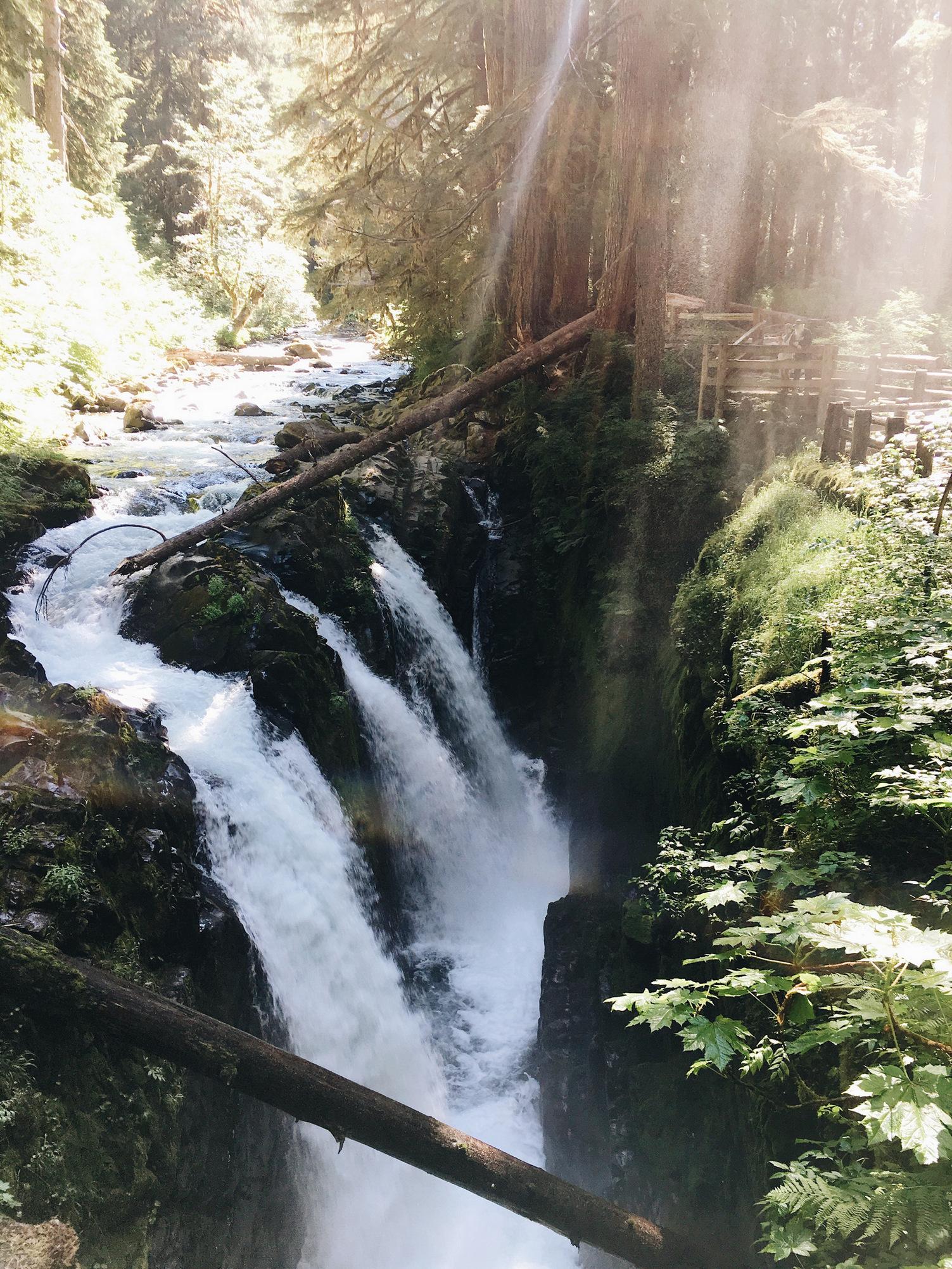 sol duc falls, olympics