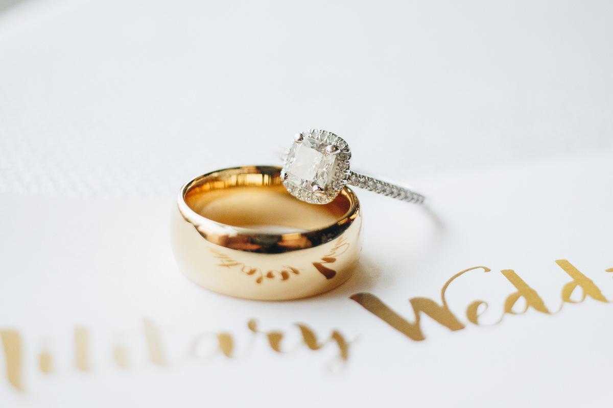 gold wedding band