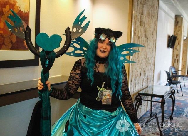 Queen Chrysalis Cosplayer