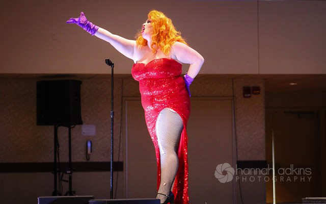 Ginger Perón as Jessica Rabbit