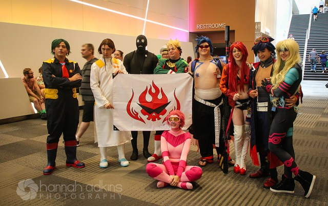 Cosplayers at Matsuricon