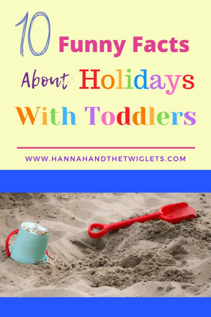 holidays with toddlers