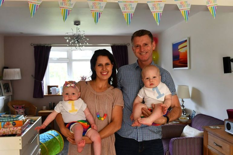 rainbow first birthday party