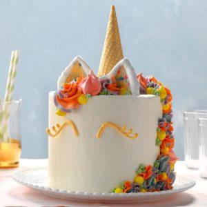 unicorn sweet treats cake