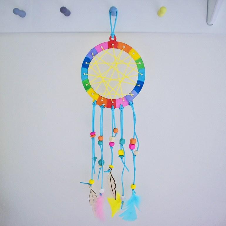 rainbow dreamcatcher