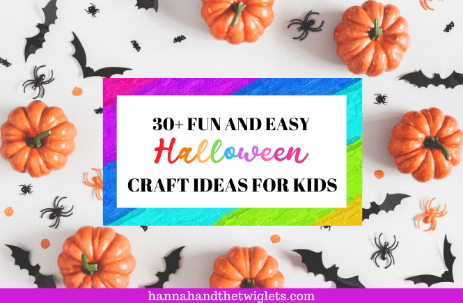 Fun and easy Halloween craft ideas for kids
