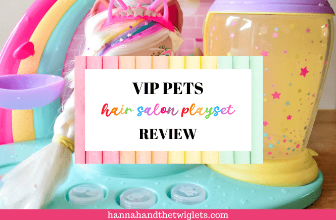 VIP Pets hair salon playset review
