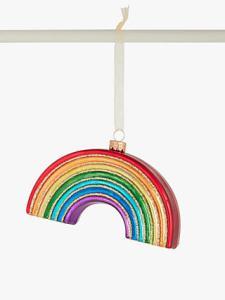 rainbow Christmas bauble