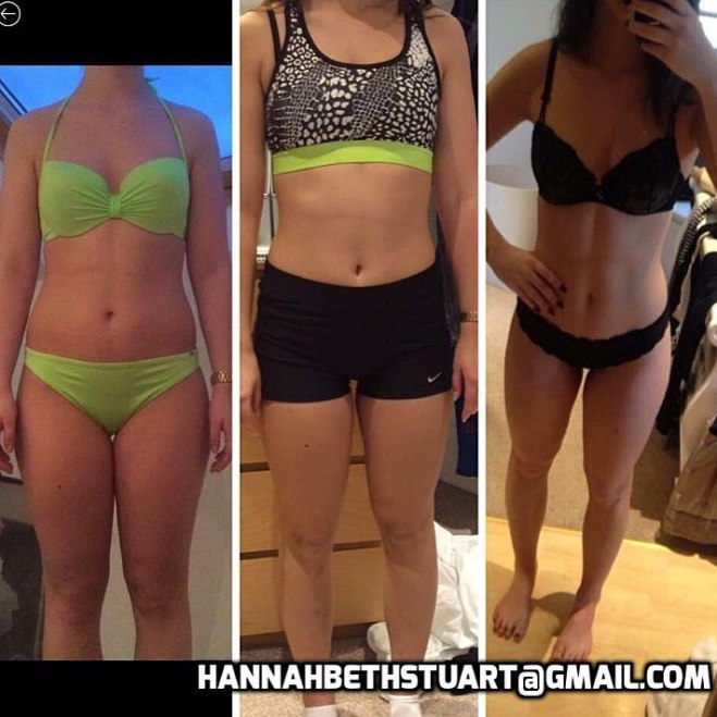 Shannon's results from online coaching