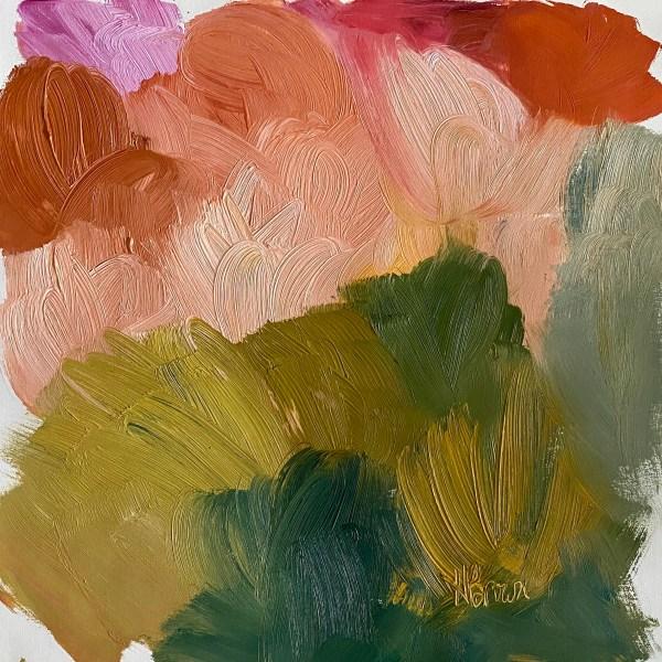 Santa Fe abstract oil painting
