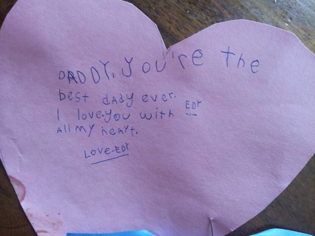 Edy love note