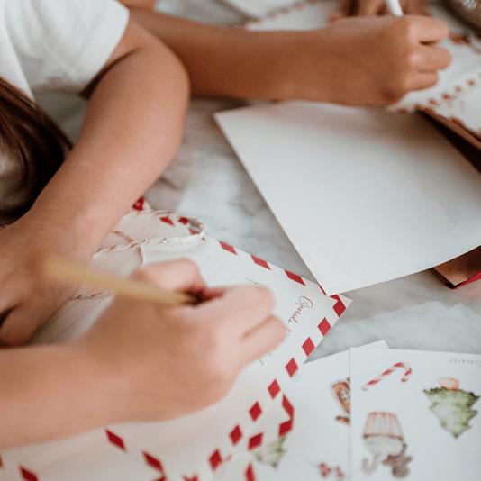 Carta a Papa Noel x Hannah Creates y Laura Burzio Pasteleria