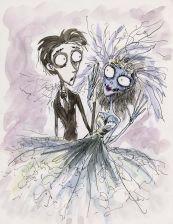 Corpse Bride (Tim Burton original sketch)