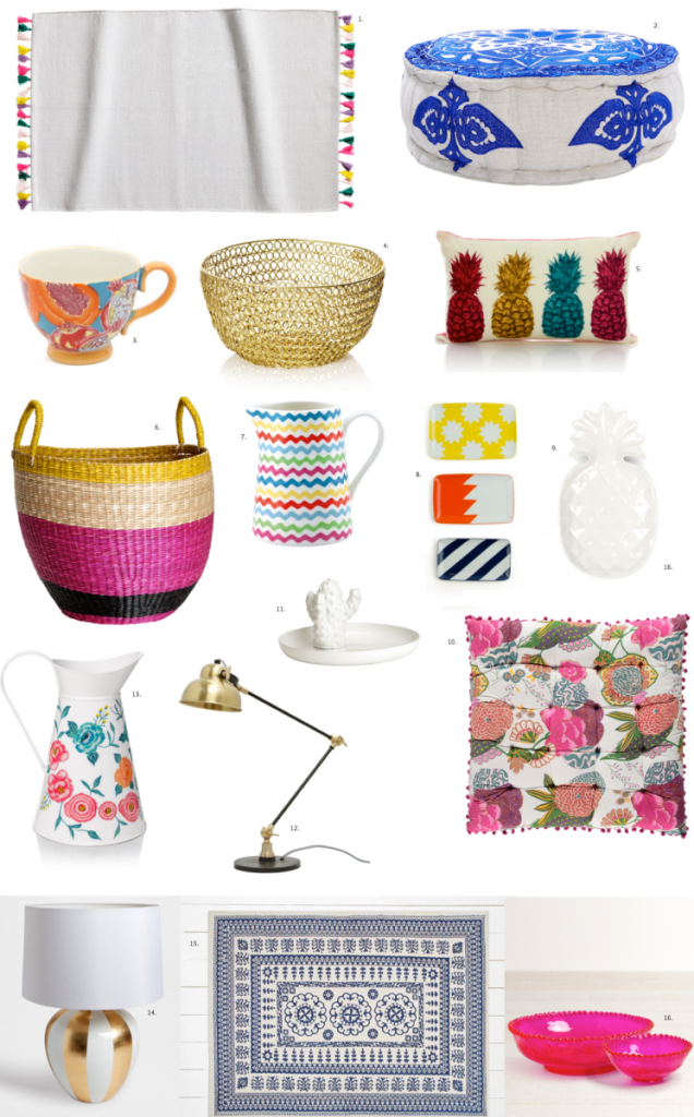 april homeware list
