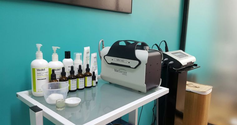 Microdermabrasion facial for clearer skin