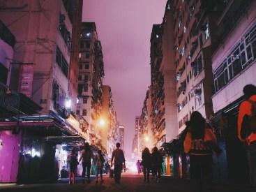 Fa Yuen Street - After Dark