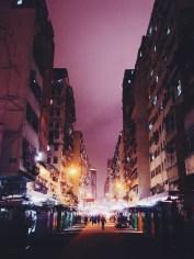 Fa Yuen Street Night Lights