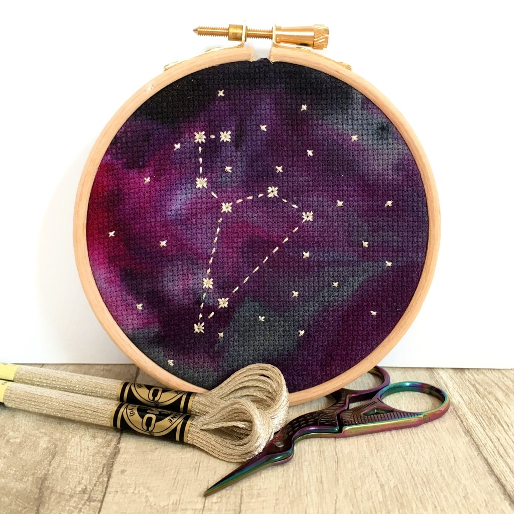 star-sign-constellation-cross-stitch-hoop