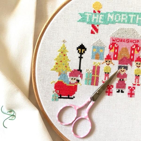 north-pole-stitch-a-long-retro