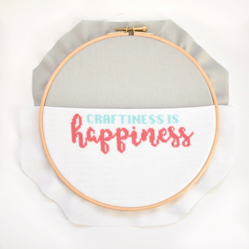 hoop with corners cut off