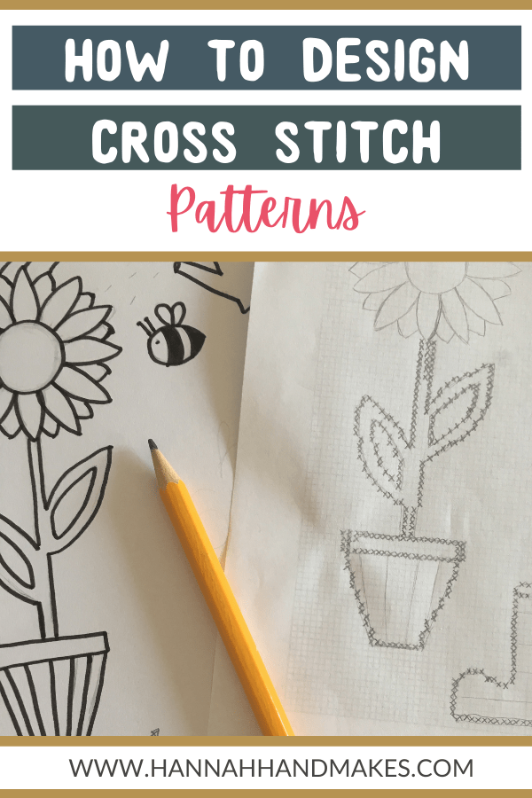 how to design cross stitch patterns pin